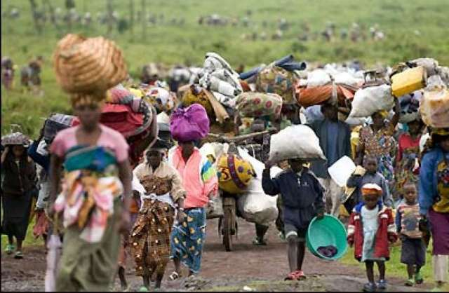 over 200,000 people have been displaced in Nigeria beacuse of terrorism and conflicts