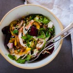 Apple Beetroot Chopped Salad