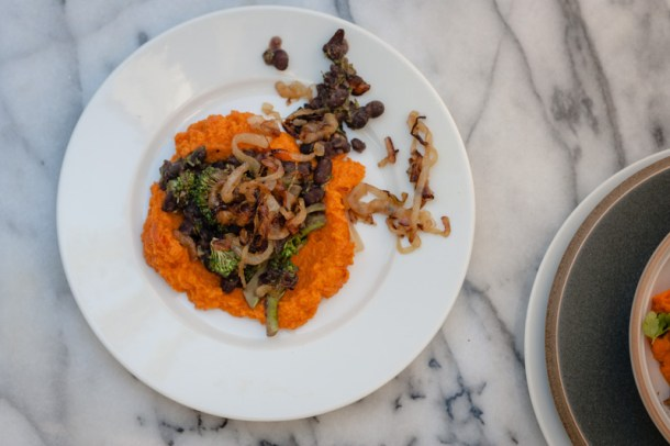 Carrot and Black Bean Bowls
