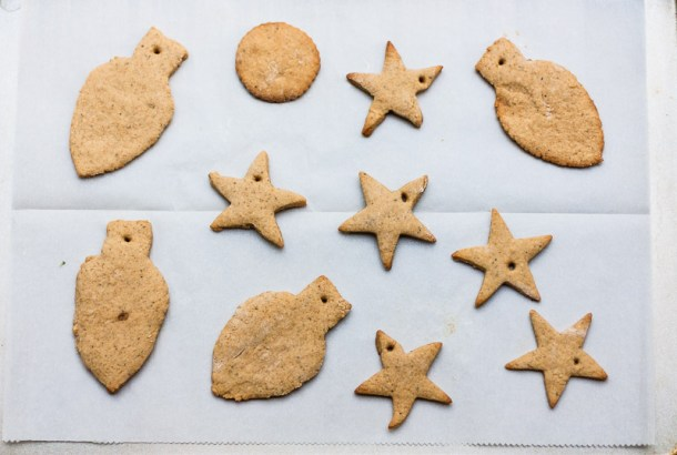 Iced Gingerbread Cookies