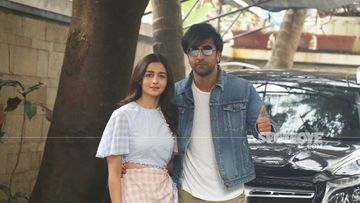 Ranbir Kapoor and Alia