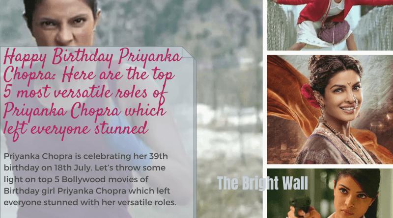 Bollywood Movies of Priyanka Chopra
