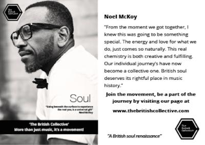 British Collective, Message Noel McKoy