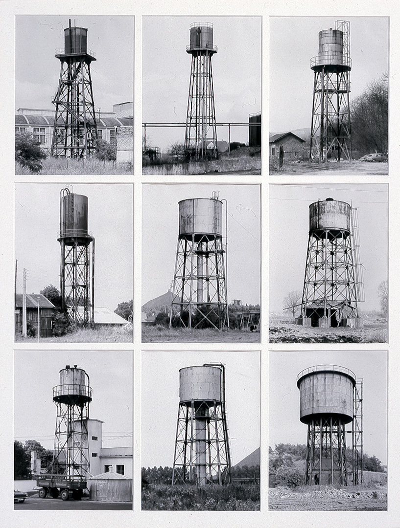 Water Towers  Bernd and Hilla Becher  The Broad