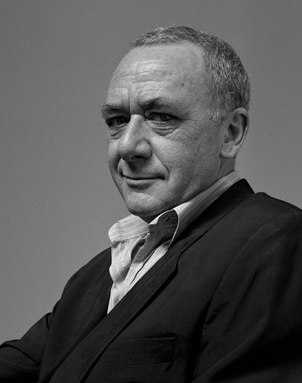 Portrait Of Gerhard Richter Broad