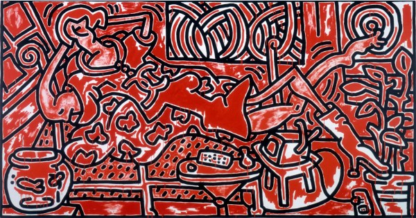 Red Room - Keith Haring Broad