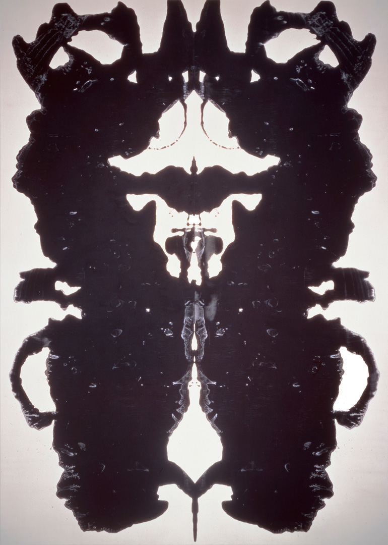 hight resolution of rorschach andy warhol
