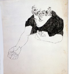 andy warhol the nation s nightmare 1951 ink on paper [ 918 x 1080 Pixel ]