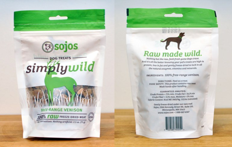 What is irresistible, packed with enzymes and vitamins, and made in the USA from human grade ingredients? Solos! Henry and I took several Sojos items for a test run and have some tips for easily adding raw benefits to your dog's diet!