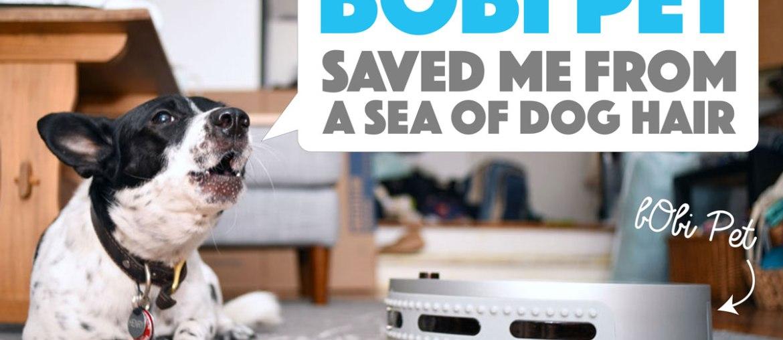 bObi Pet Saved Me From a Sea of Dog Hair