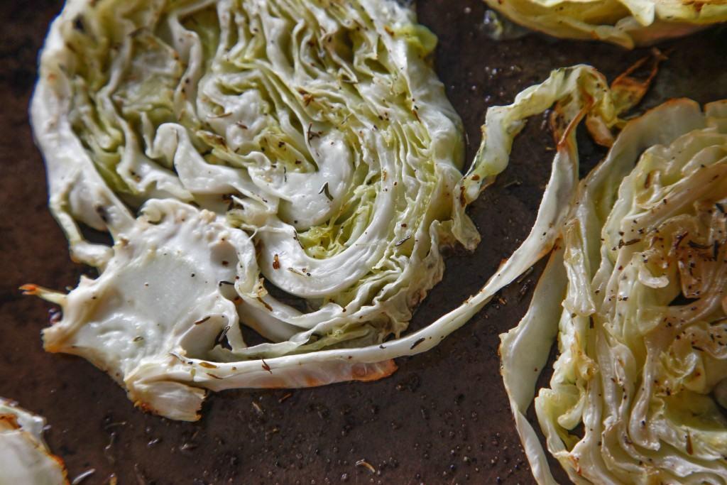 Braised Cabbage Steaks