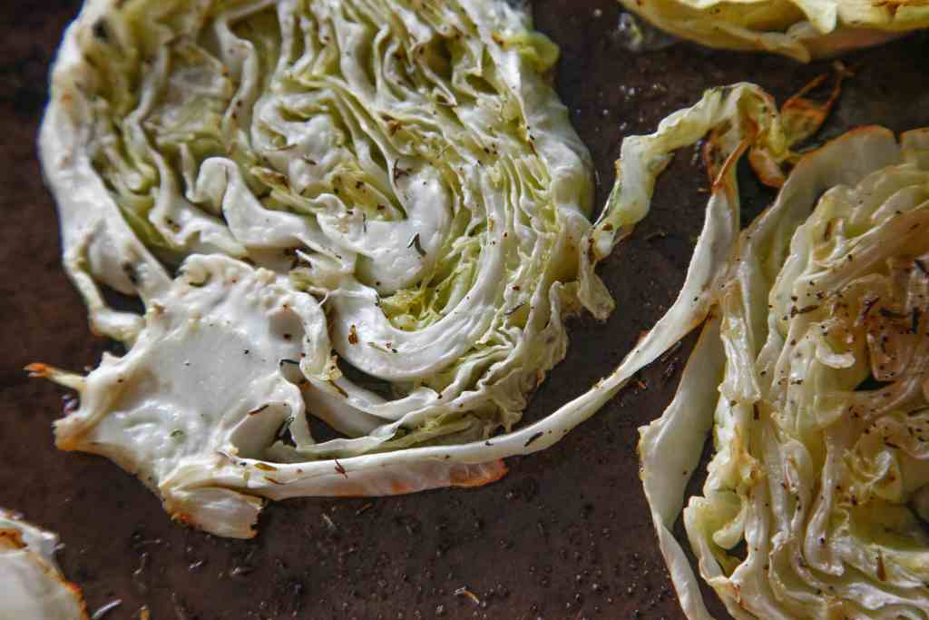 Braised Cabbage Steaks