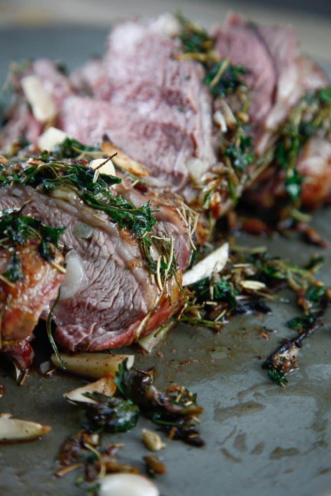 Herb Encrusted Lamb