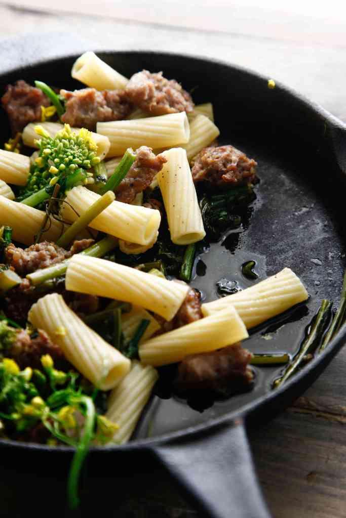 sausage with broccoli rabe_-8