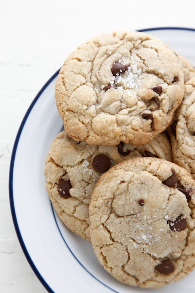 brown butter chocolate chip cookies_-9