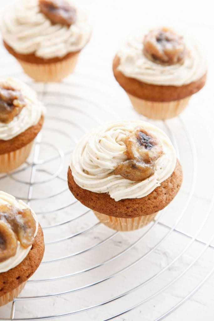 Bannanas Foster Brown Sugar Cupcakes_-6