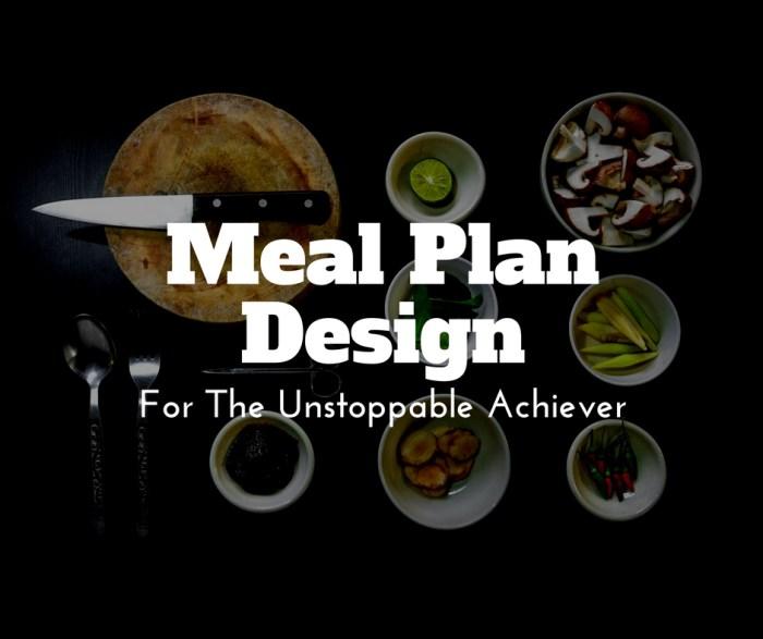 Meal Plan Design