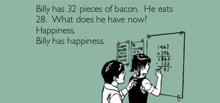 math bacon