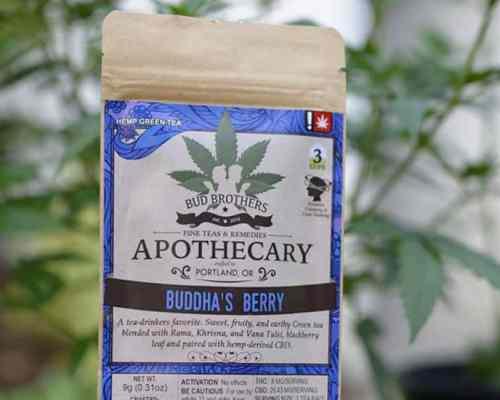 Buddha's Berry CBD Tea