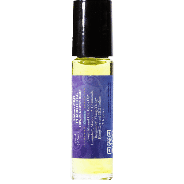 Restful CBD Essential Oil Side