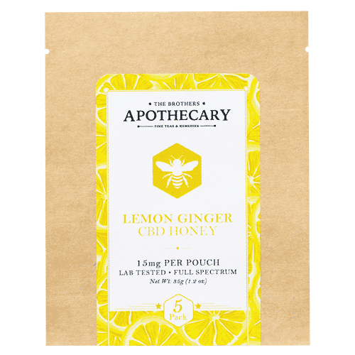Lemon Ginger CBD Honey by The Brothers Apothecary