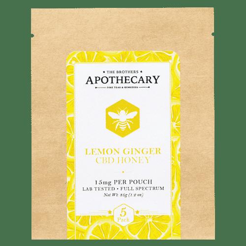 Lemon Ginger CBD Honey