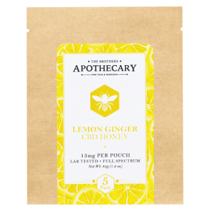 Lemon Ginger CBD Honey