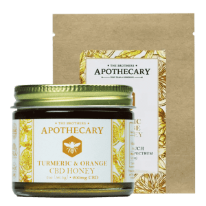 CBD Orange Turmeric Honey