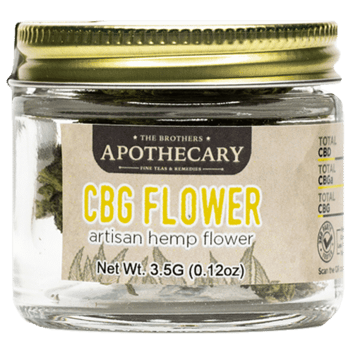 CBG Flower Smoking Bud - Front