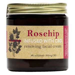The Brothers Apothecary Rosehip Hibiscus CBD Face Cream