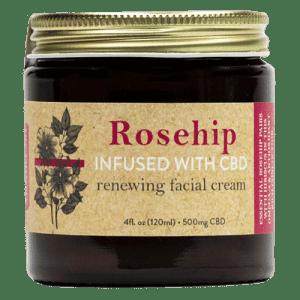 Rosehip Hibiscus CBD Face Cream