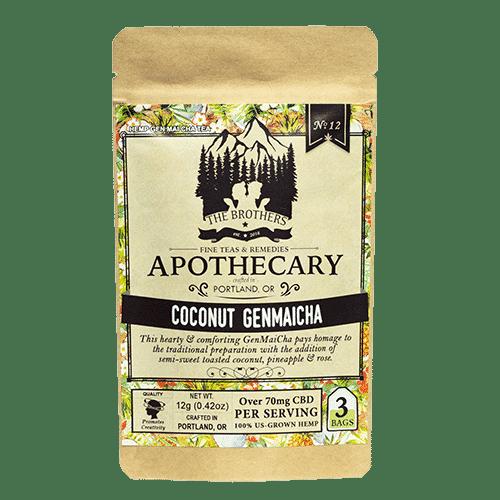 Coconut Genmaicha CBD Tea