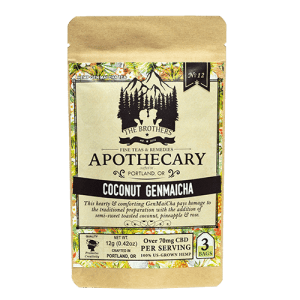 Coconut Genmaicha CBD Tea