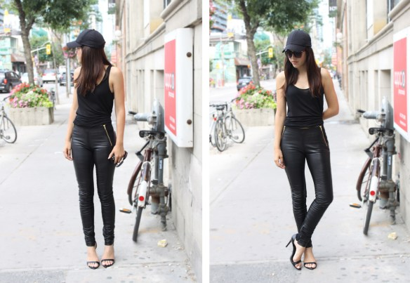 vanessa-cesario-danier-leather-pants