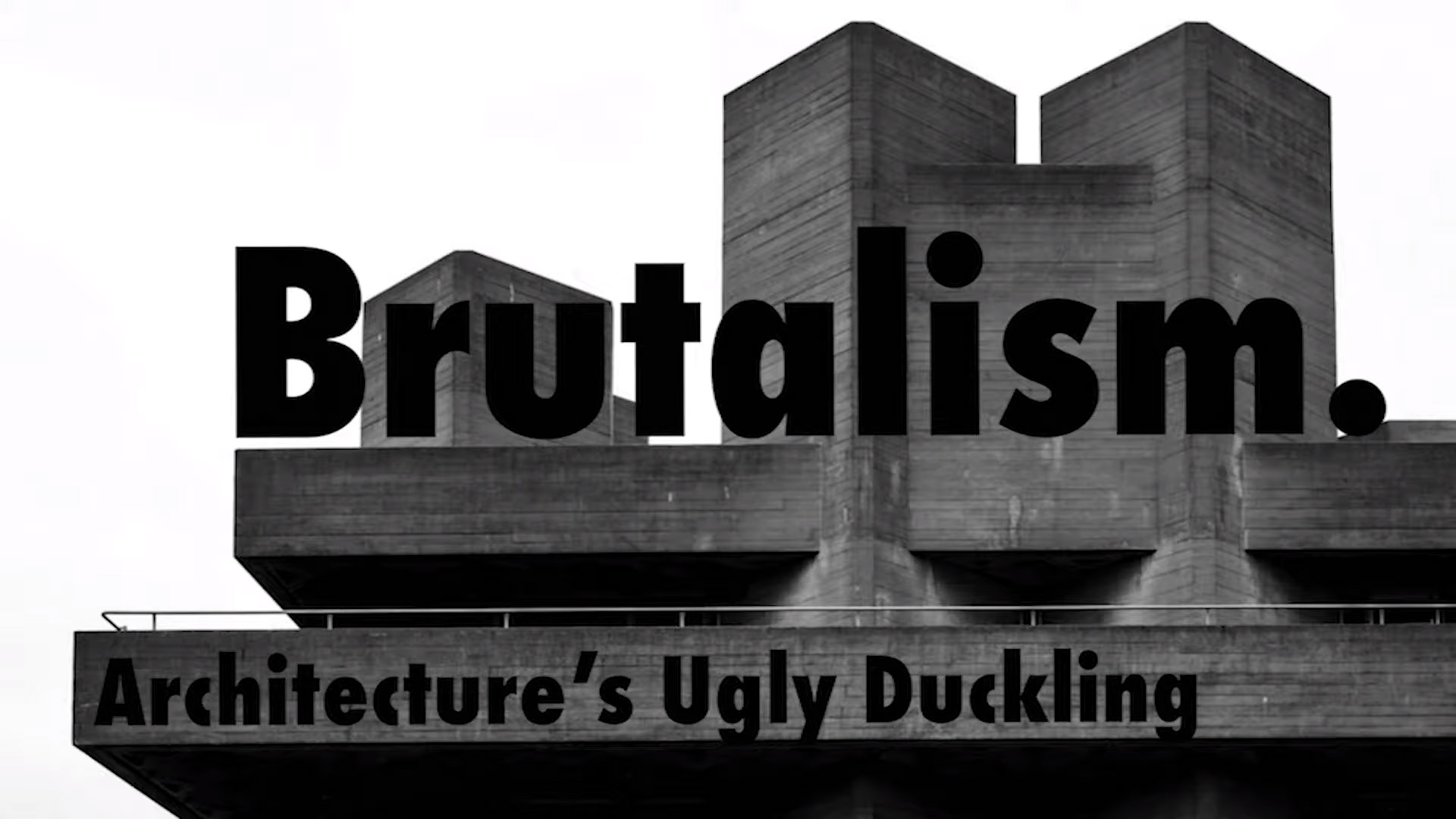 Architecture's Ugly Duckling