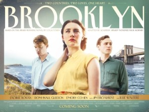 A poster for the recent film adaptation of Brooklyn.