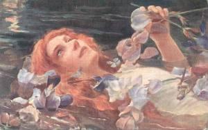 'Ophelia' (detail) Sir John Everett Millais