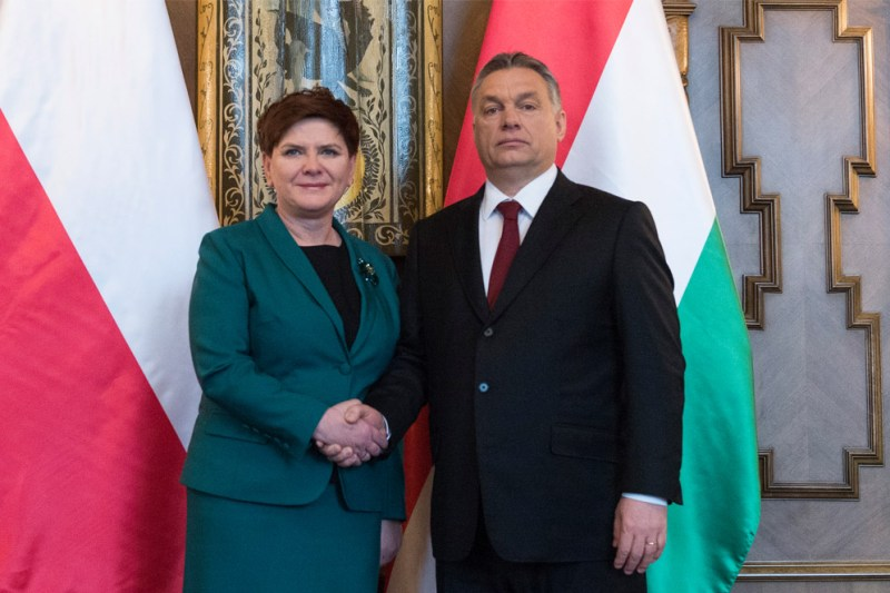 Beata Szydło and Viktor Orbán, Prime Ministers of Poland and Hungary, have tapped into the growing populism which helped Donald Trump to victory in the States
