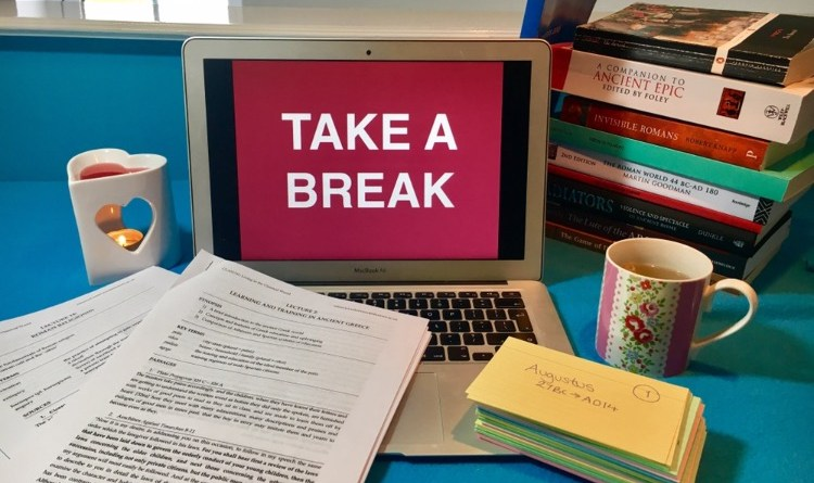Stress less during exam season