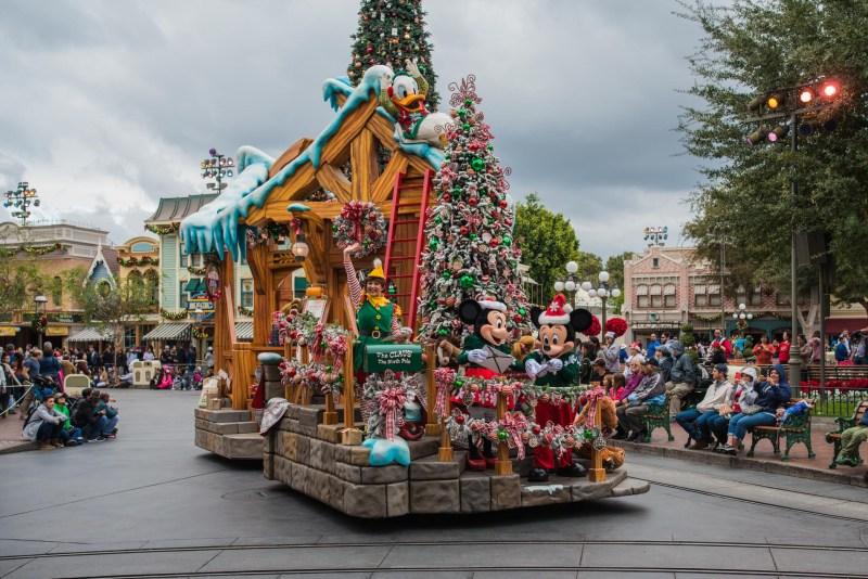 Christmas at Disneyland - Parades