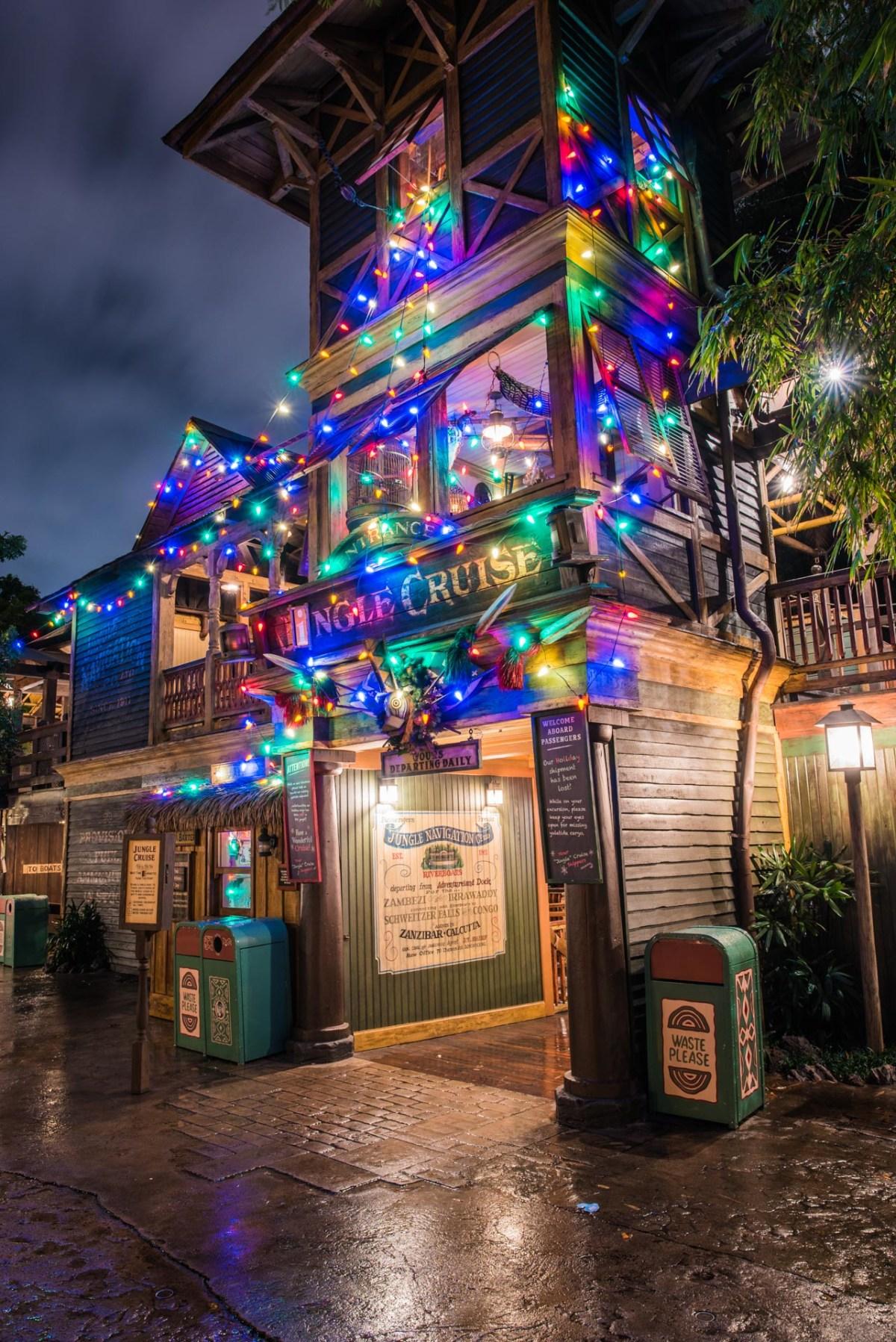 Christmas at Disneyland - Jingle Cruise