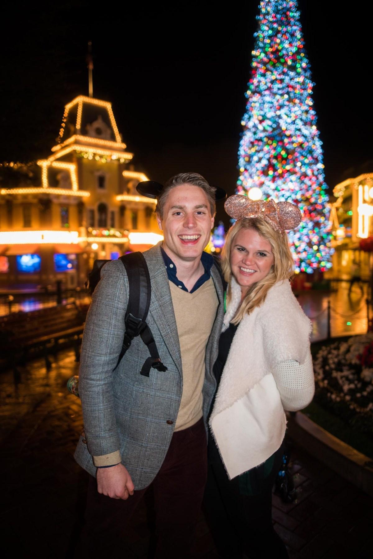 Christmas at Disneyland