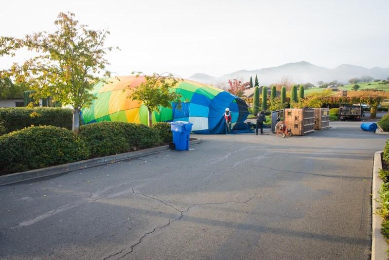 Hot Air Ballooning In Napa, California north-america adventures