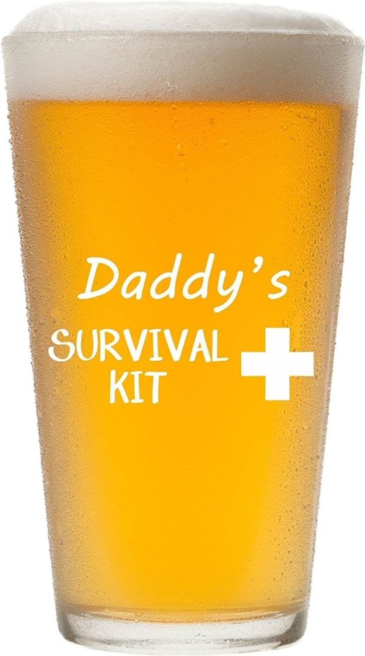 beer glass father's day