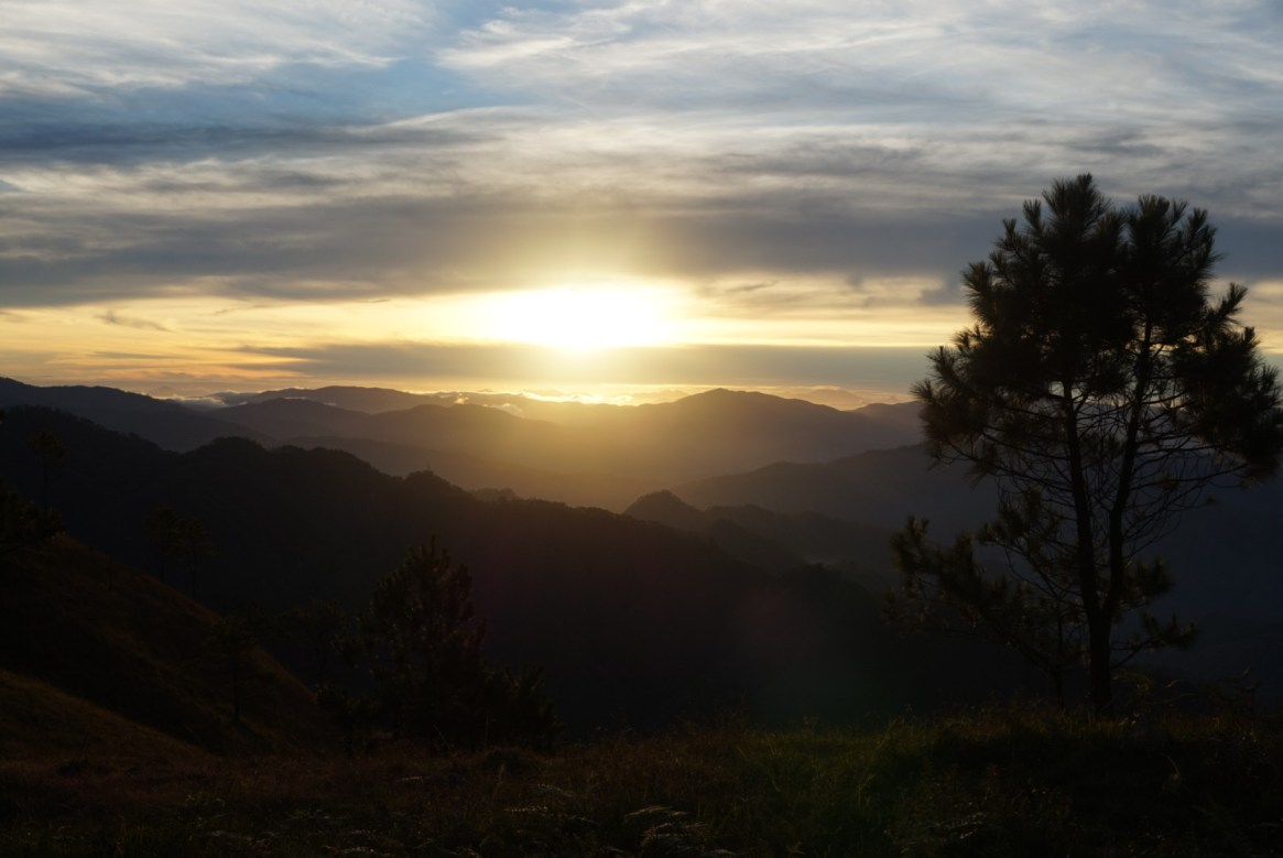 Mt. Ulap sunrise, Itogon