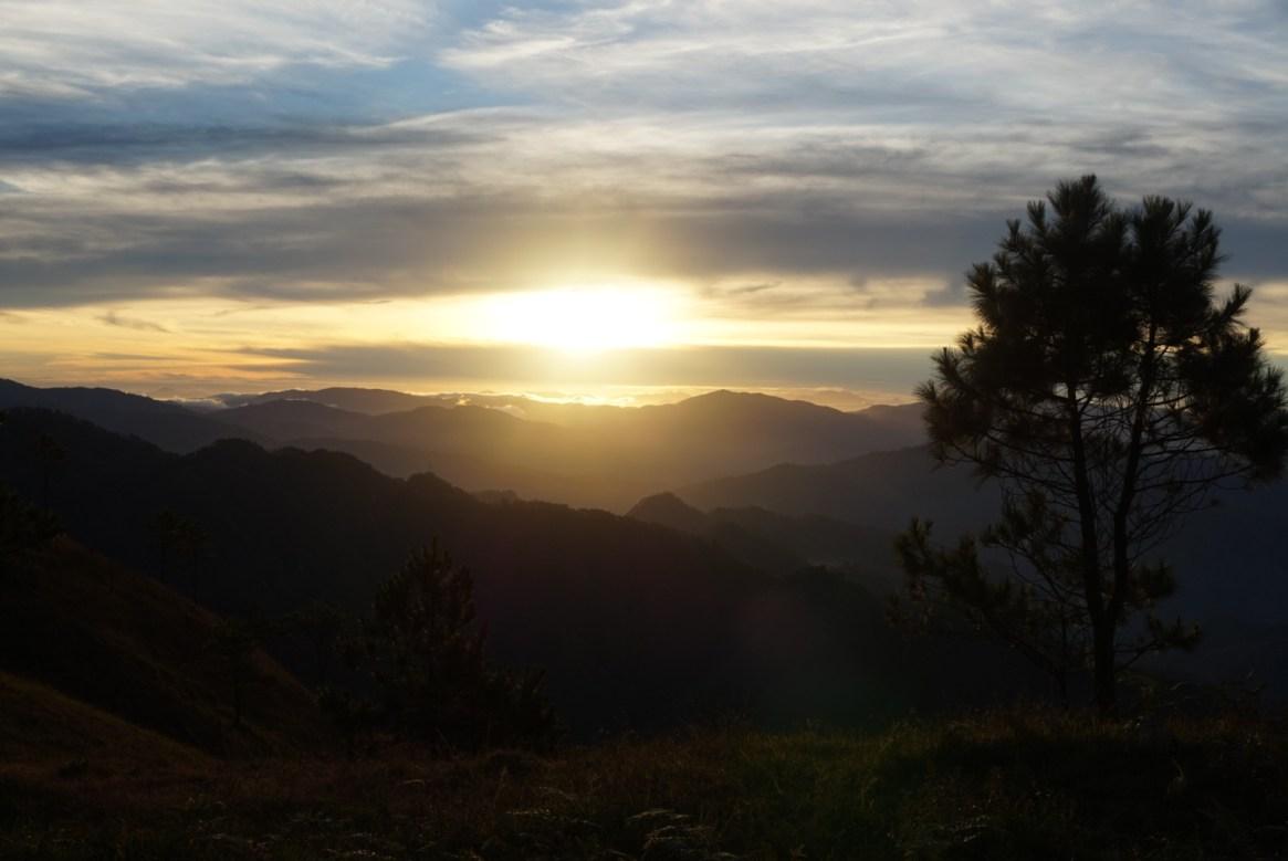 Mt. Ulap sunrise, Itogon
