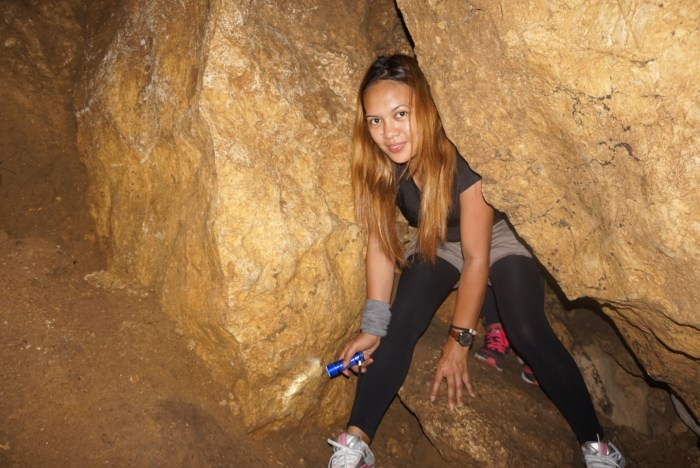 Bayukbok Cave spelunking