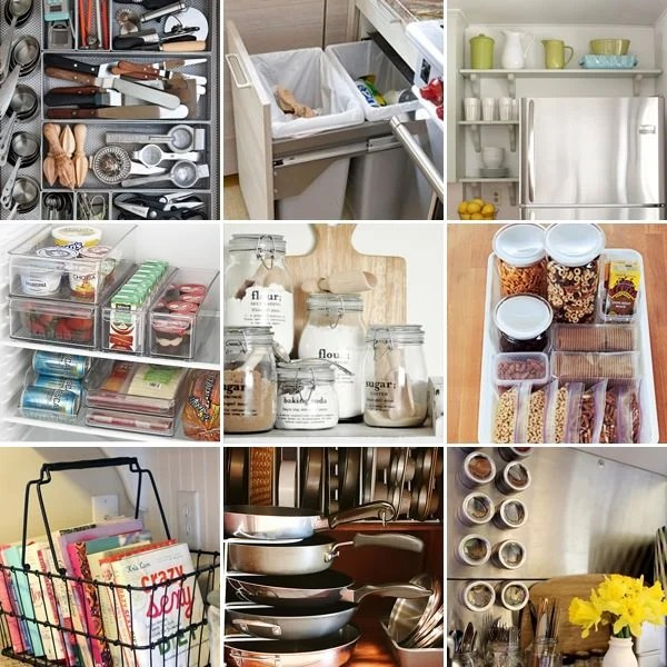 Simple Ideas to Organize Your Kitchen  The Budget Decorator
