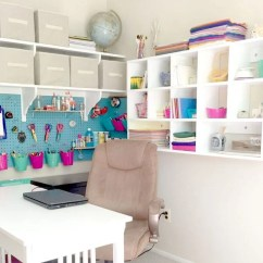 Ideas For Craft Room Chairs Mickey Mouse Chair Desk Uk Diy Projects The Budget Decorator Create An Entire Less Than 250 With These Easy Plans From Just Measuring Up Tutorial Includes Pegboard Storage