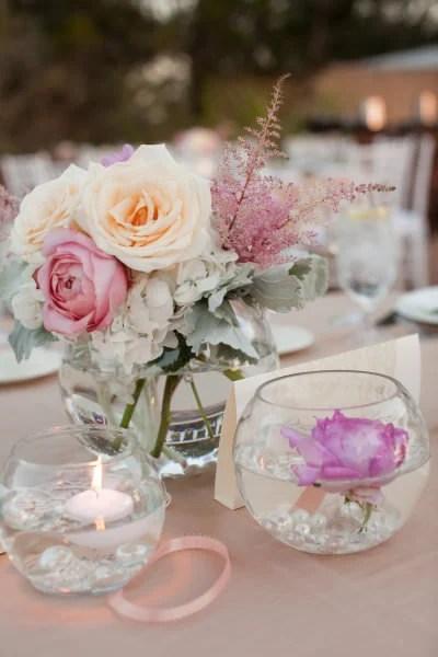 Shabby Chic Flower Vases Weddings